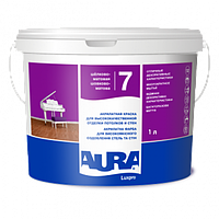 Акрилатная краска Aura Luxpro 7 1л  (шелковисто-матовая)