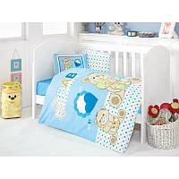 Детское постельное белье для младенцев Eponj Home - Yumos Mavi (6000000125127)