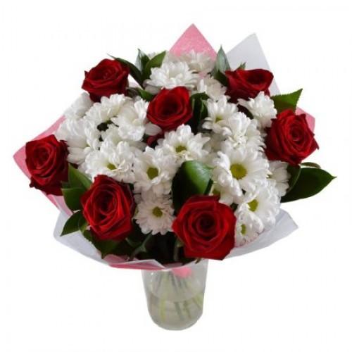 """Стильний букет квітів """"Симпатяжка"""""""