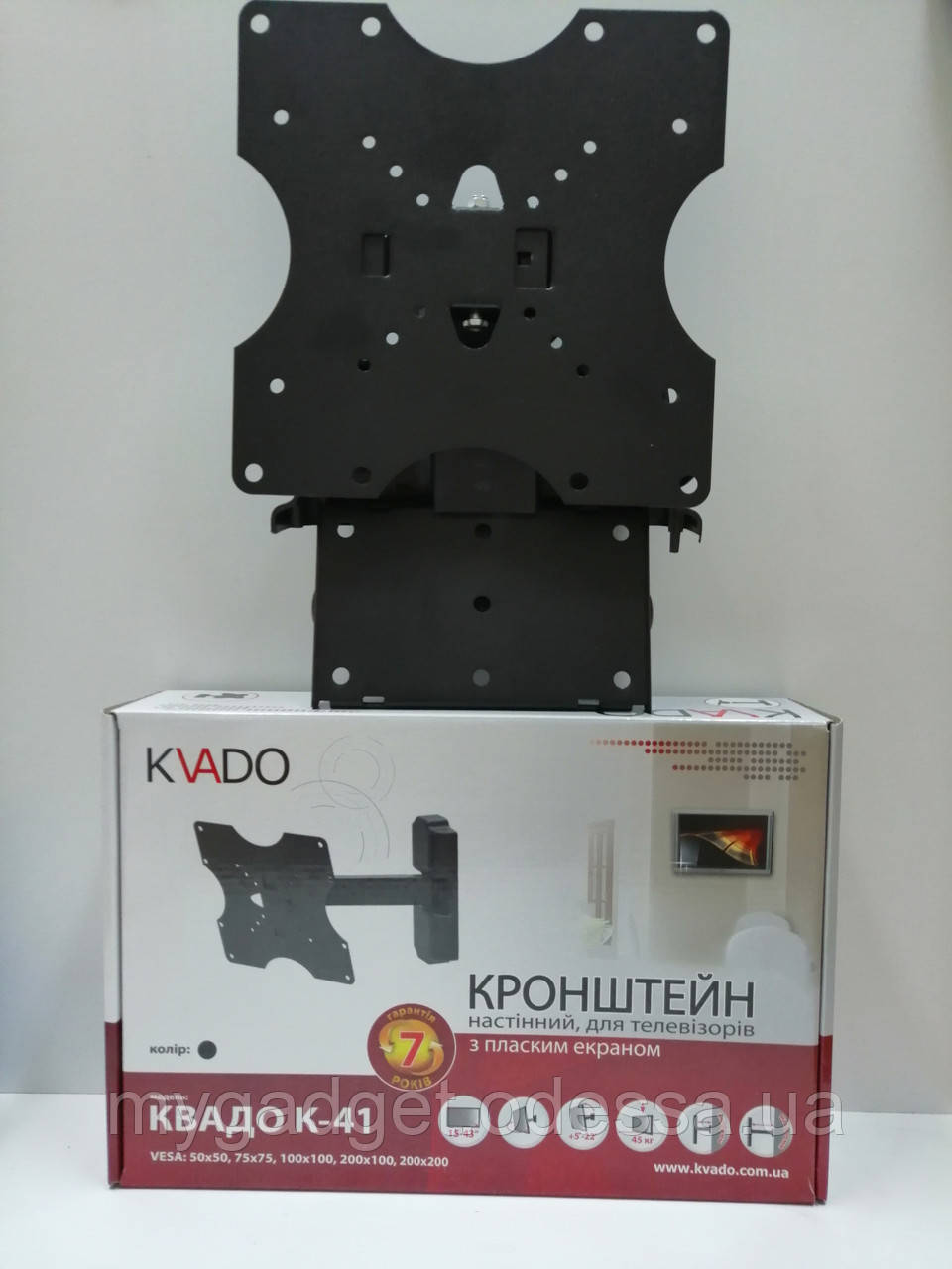 Кронштейн Квадо К-41 ГАРАНТИЯ 7 ЛЕТ!