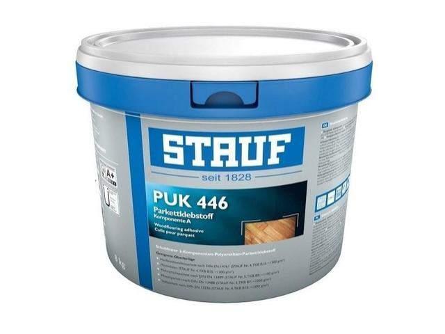 """Клей Stauf """"PUK – 446"""" 2 - компонентный полиуретановый паркетный клей"""