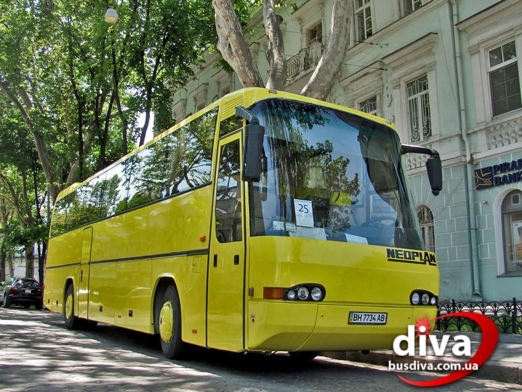 Заказ АВТОБУСОВ в Одессе. Автобус 55 мест.