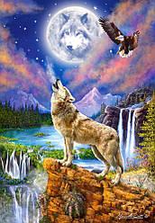 Пазлы  Волчья ночь, 1500 элементов