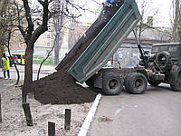 Доставка плодородного чернозема (066)4327255 Купить чернозем по Киеву.