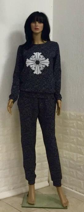 Трикотажный женский костюм оптом