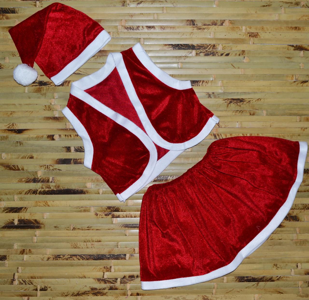 Новогодний костюм для девочки (3-7 лет)