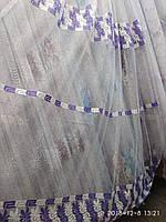 Тюль фатиновая с вишивкой Высота 2.8 м На метраж и опт, фото 1