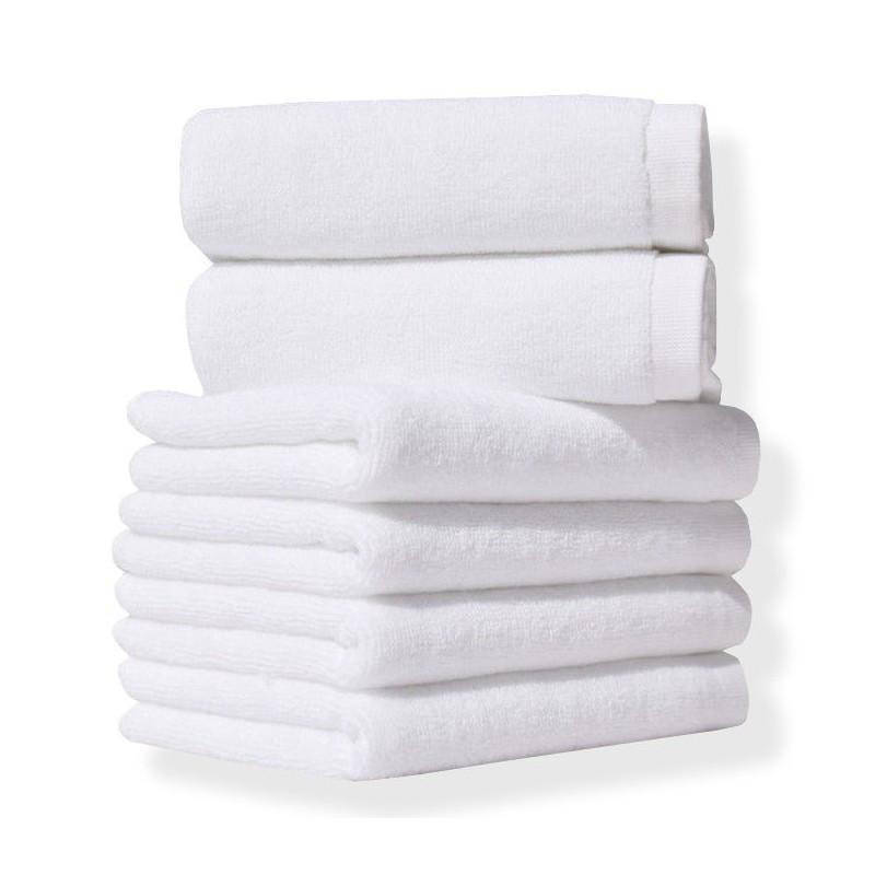 Полотенце Lotus Отель - Белый 50*90 (20/2) 450 г/м² (2000008471435)