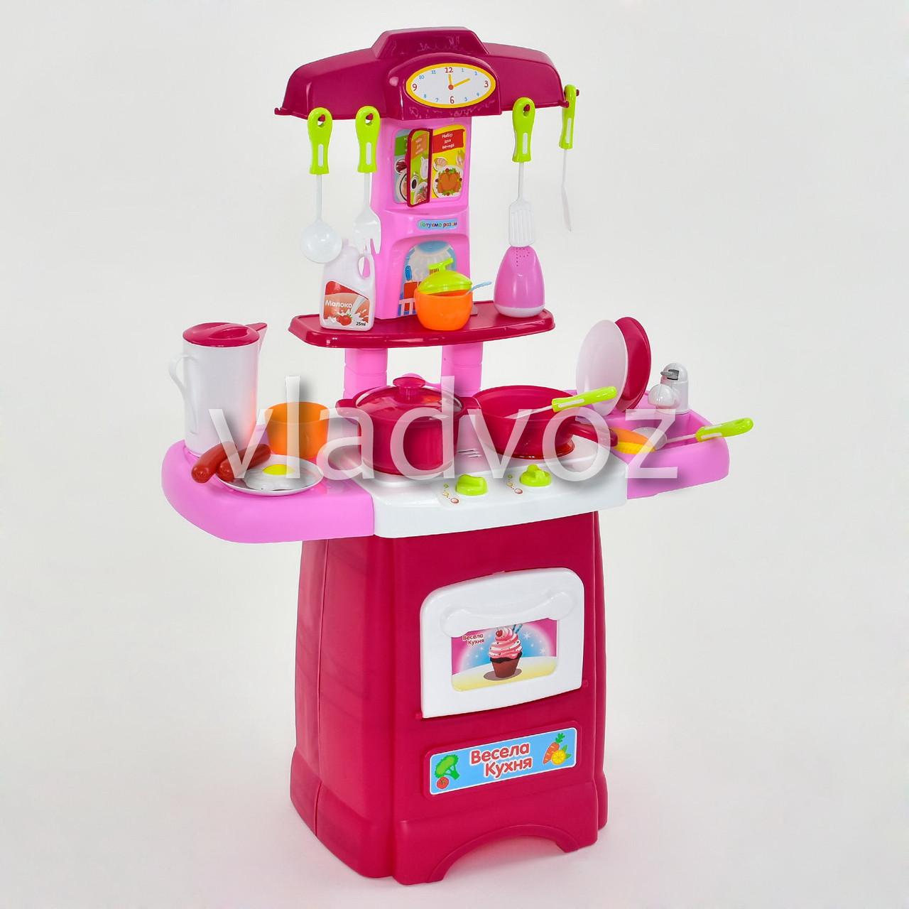 комплектация детской кухни для девочки игрушечная