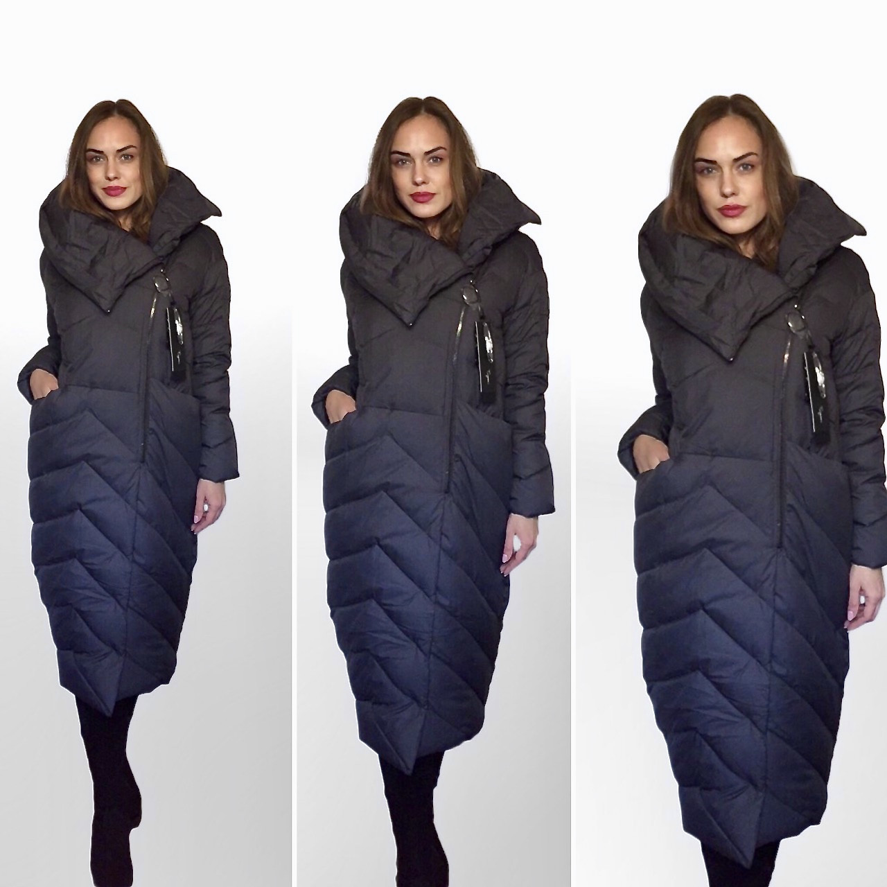 Дизайнерские Пуховики Пальто OVERSIZE. Фабричный Китай Гарантия качества и  стиля! Цвета, размеры в 3da82c79e96