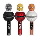 Портативный Микрофон - Караоке  Wster WS-878 / Караоке / Микрофон /  Bluetooth / USB / AUX, фото 3