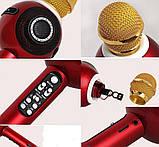 Портативный Микрофон - Караоке  Wster WS-878 / Караоке / Микрофон /  Bluetooth / USB / AUX, фото 5