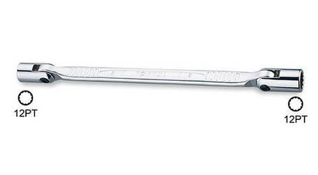 Ключ шарнірний 10х11мм Toptul AEEC1011, фото 2