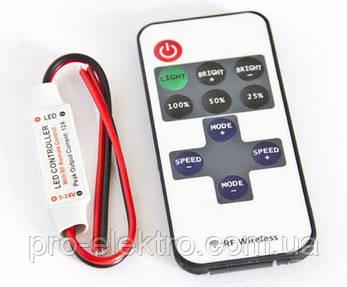Диммер одноканальный mini 6А Радио - 11 кнопок, фото 2
