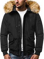 Мужская зимняя куртка, черного цвета. ТОП КАЧЕСТВО!!!