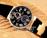 Мужские наручные часы Ulysse Nardin Maxi Marine Chronometer 266-67-3/42 Gold Black Улис Нардин реплика