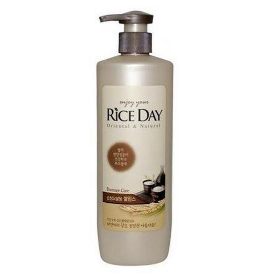 Восстанавливающий кондиционер для поврежденных волос CJ Lion Rice Day Oriental & Natural Damage, 550ml
