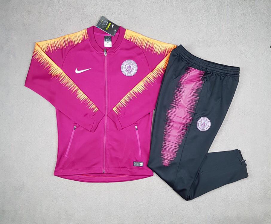 Спортивный костюм Манчестер Сити 2018-2019 фиолетовый
