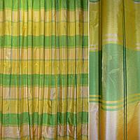Шелк желтые,салатные квадраты ш.280 (38310.001)