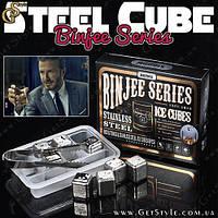 """Стальные кубики для алкоголя - """"Steel Cube"""" - 8 шт. в упаковке!"""