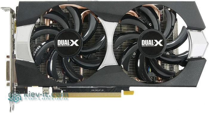 """Видеокарта Sapphire Radeon R9 270X 2 GB (11217-00) """"Over-Stock"""" Б/У"""