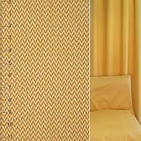 Жаккард золотисто-желтый зигзаг ш.142 (38331.006)