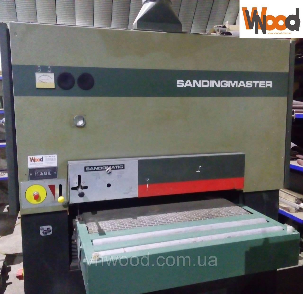 Калібрувально-шліфувальний верстат SANDINGMASTER KCSB 900