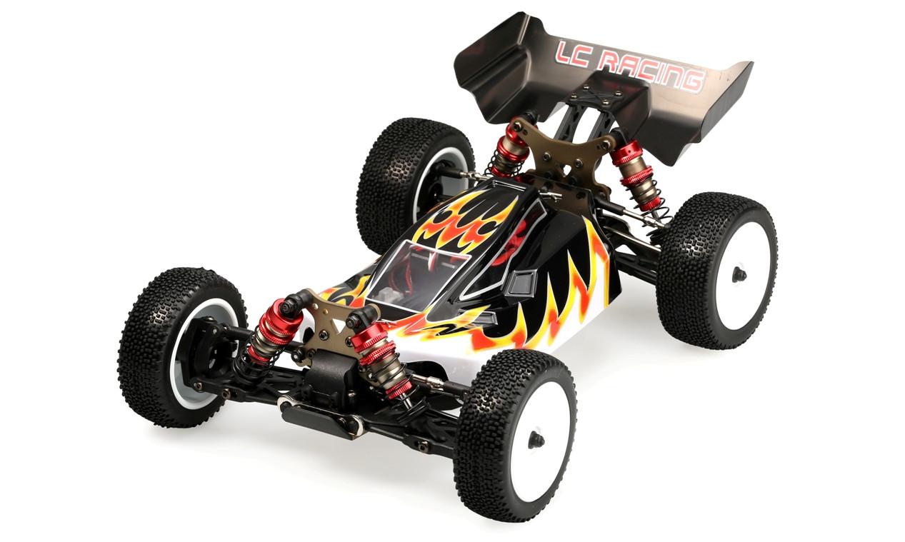 Радиоуправляемая машина Багги 1:14 LC Racing 1H бесколлекторная (черный)