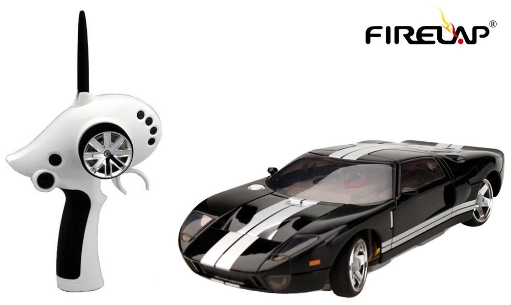 Машина на радиоуправлении 1:28 Firelap IW02M-A Ford GT 2WD (черный)