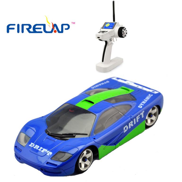 Модель машины на радиоуправлении Firelap 1:28 IW04M Mclaren 4WD (синий)