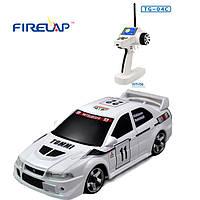 Модель машины на радиоуправлении Firelap 1:28 IW04M Mitsubishi EVO 4WD (белый)