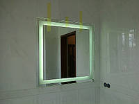Зеркало влагостойкое купить под заказ в Киеве для ванной комнаты