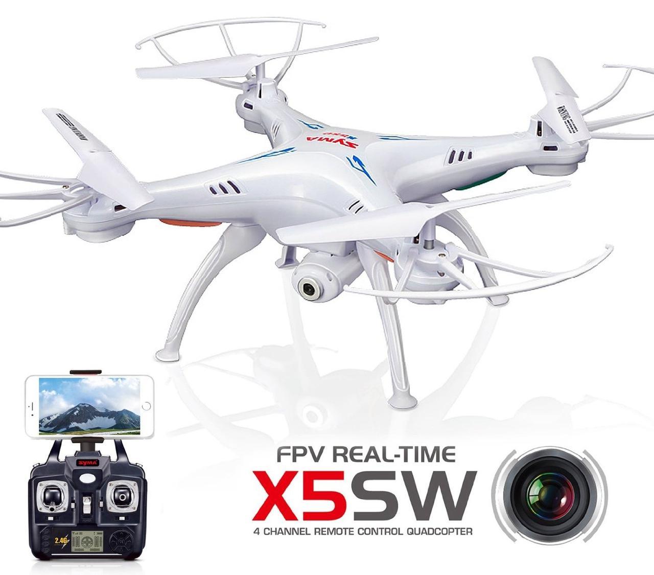 Syma X5SW  квадрокоптер с камерой WiFi