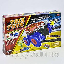Монстр Трек игрушка ,Monster Truck, машинка на батарейках, препят. Волна, Уклон, Лестница, Натянутые струны