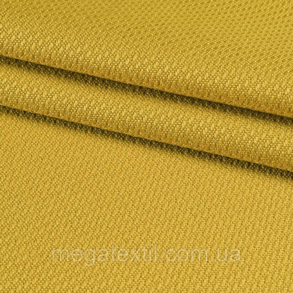 Рогожка віскозна інтер'єрна золотисто-жовта ш.140 (39000.007)
