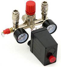 Переключатель давления для компрессора