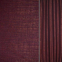 Рогожка CADIZ чорно-бордова з відблисками ш.140 (39014.001)