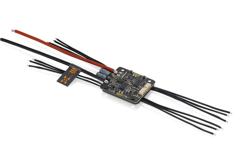 Регулятор хода кватро HOBBYWING XRotor 20A Micro 3-4S 4в1 для мультикоптеров