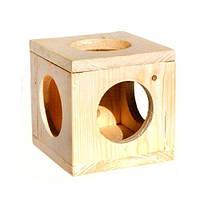 Куб подвесной для шиншилл, морских свинок (16 х 16) Лори