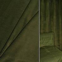 Велюр с вискозой мебельный зеленый, ш.140 (39034.005)