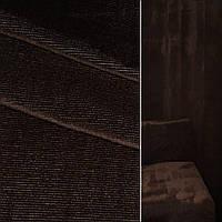 Велюр с вискозой мебельный коричневый темный, ш.140 (39034.008)
