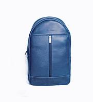 """Рюкзак кожаный для ноутбука синий 13"""" BP1 (13-33)"""