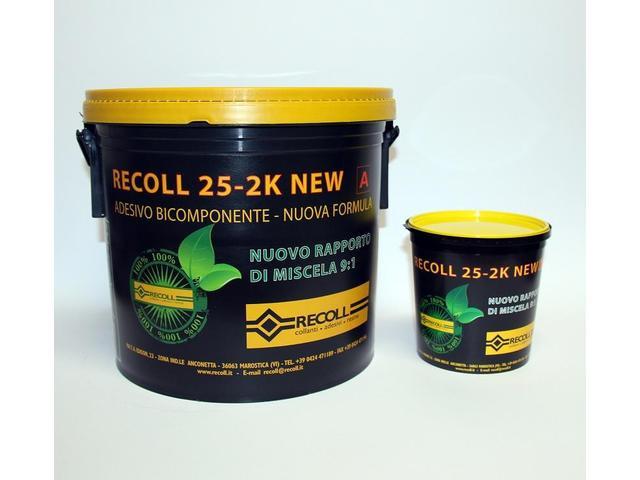 Полиуретановый двухкомпонентный паркетный клей Recoll 25 2K (9+1) кг
