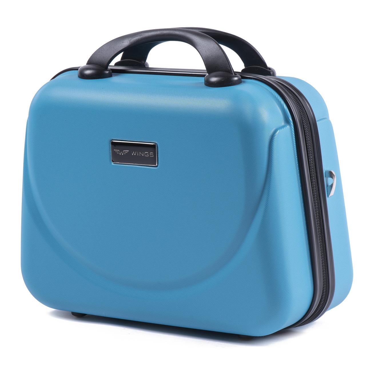 Кейс пластиковый Wings 310 голубой, фото 1