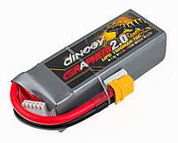 Аккумулятор Dinogy G2.0 Li-Pol 1500mAh 14.8V 4S 70C 28x35x94мм XT60