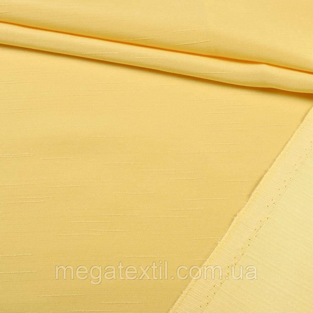 Ультра портьєрна жовта в структурні штрихи, ш.150 (39301.006)