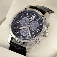 Мужские наручные часы Tissot PRC 200 T17.1.586.42 Chronograph Тиссот кожаный ремешок люкс реплика, фото 1
