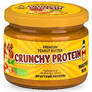 """Арахисовая паста """"Хрустящий протеин"""" премиальная"""