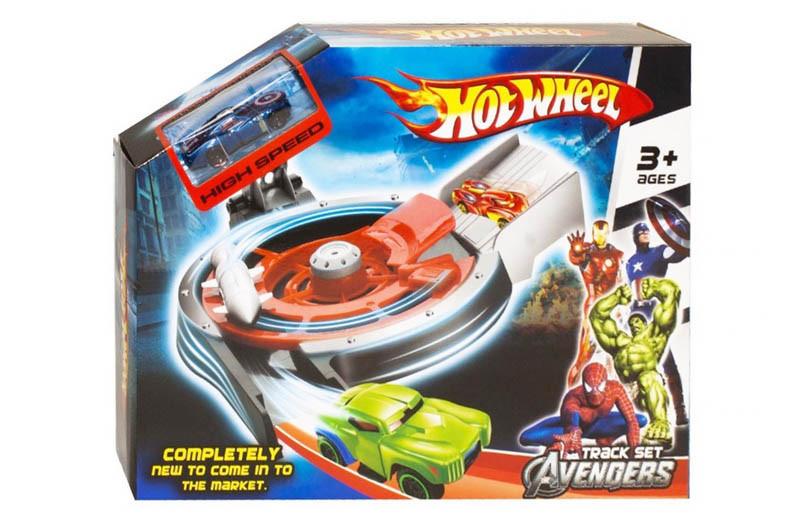 Трек-запуск Hot Wheel серия MARVEL