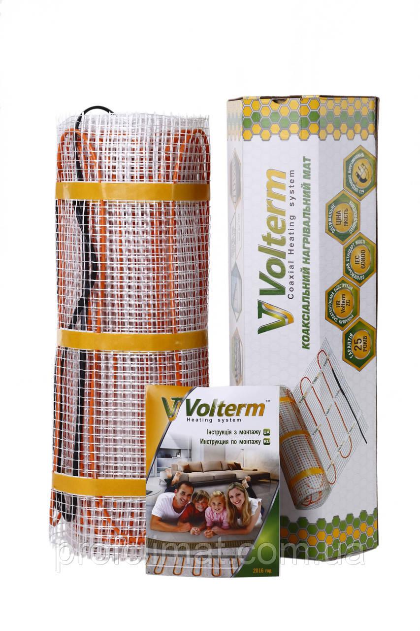 Тепла підлога, нагрівальний мат Volterm Hot Mat 1.3 кв. м 210W комплект(Hot Mat 210)